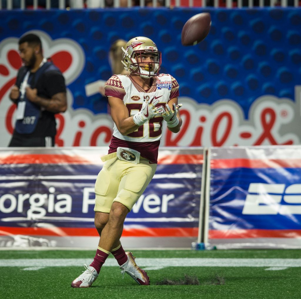Seminole Tribe Member Motlow Makes Strides With Receivers