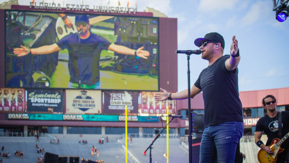 Cole Swindell Wraps Picture Perfect Day At Doak