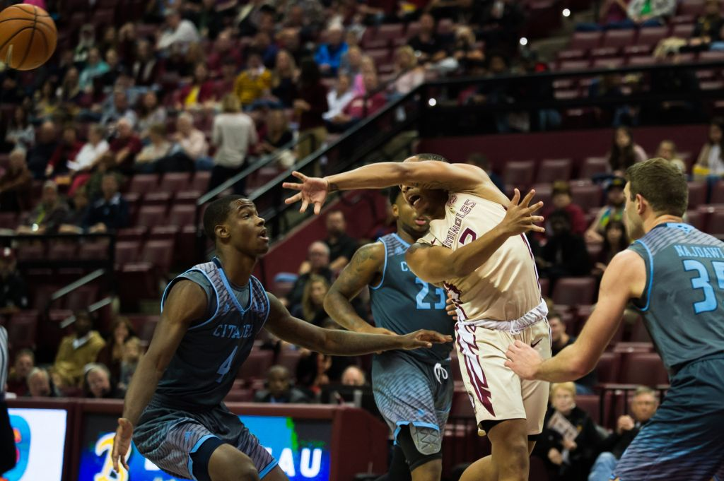 Men's Basketball vs. The Citadel Photo Gallery