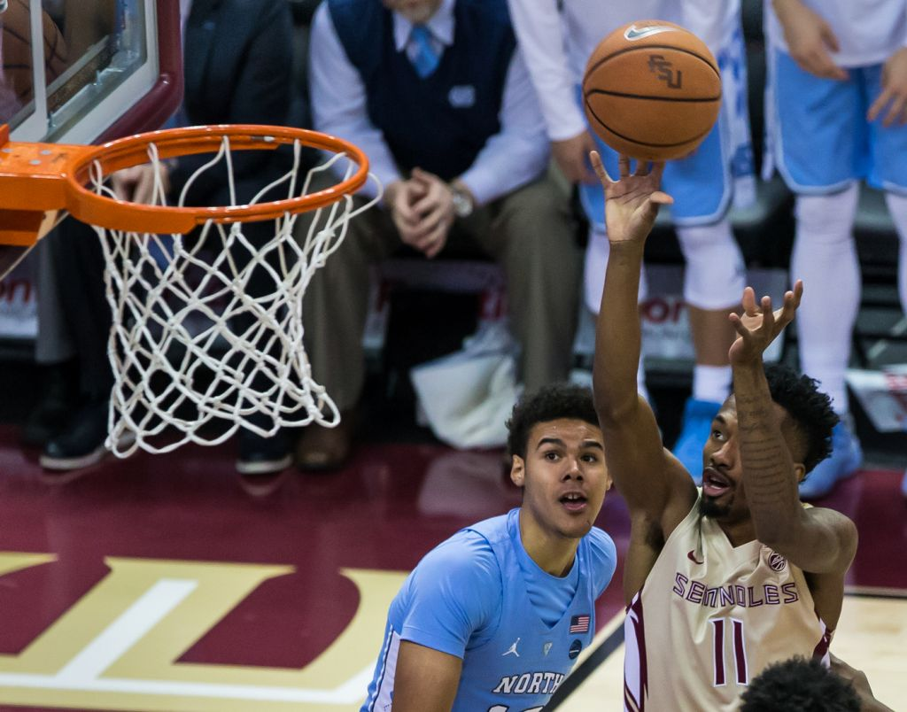 Men's Basketball vs. UNC Photo Gallery