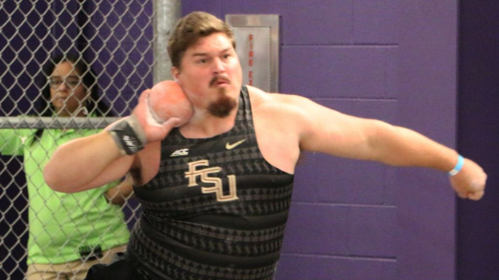 Pottorff's Win, Shot Putters, Helps Lead The Way