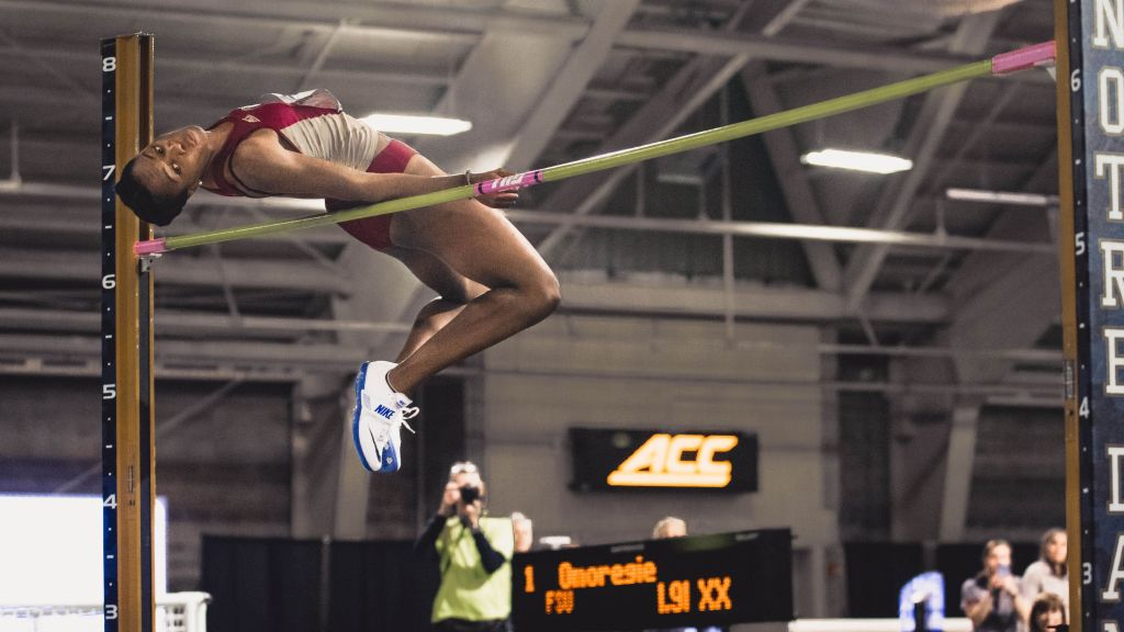 Noles Tackle Track & Field's Best At Razorback
