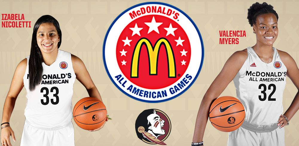 Two Women's Hoops Signees Named McDonald's All-Americans