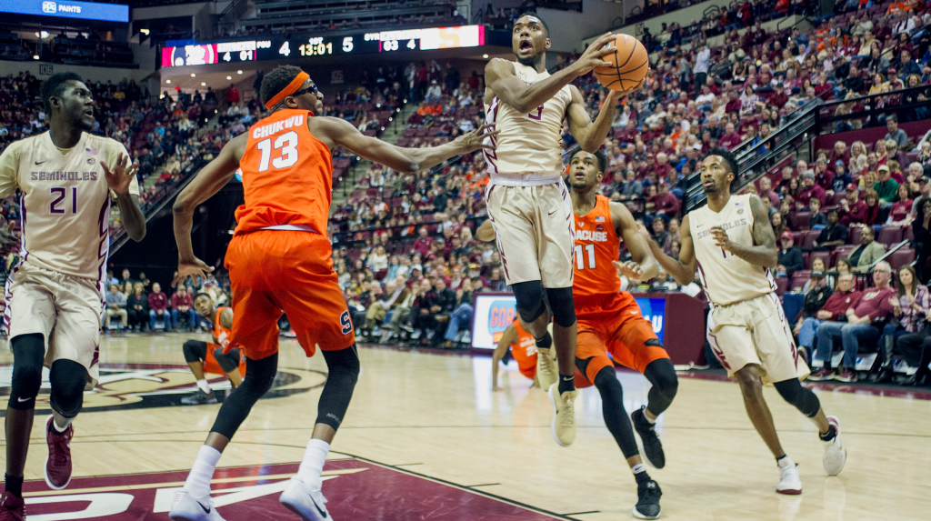 Men's Basketball vs. Syracuse Photo Gallery