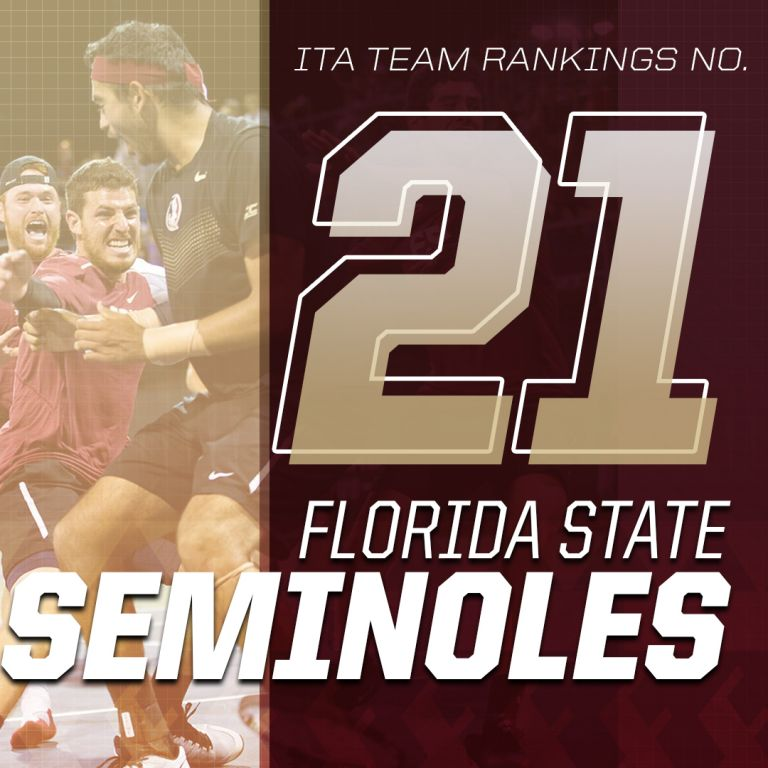 Florida State Men's Tennis enters the 2018 Season ranked No. 21