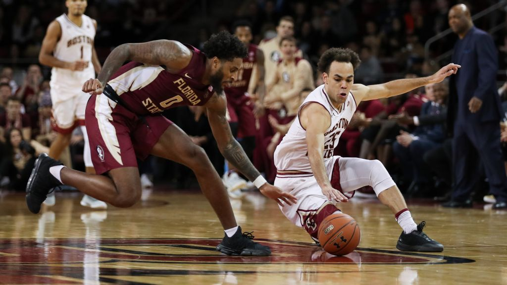 Mann Scores 21 As FSU Men Fall Short At BC