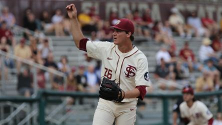 Sands, Bournigal Pace Noles to 7-2 Victory