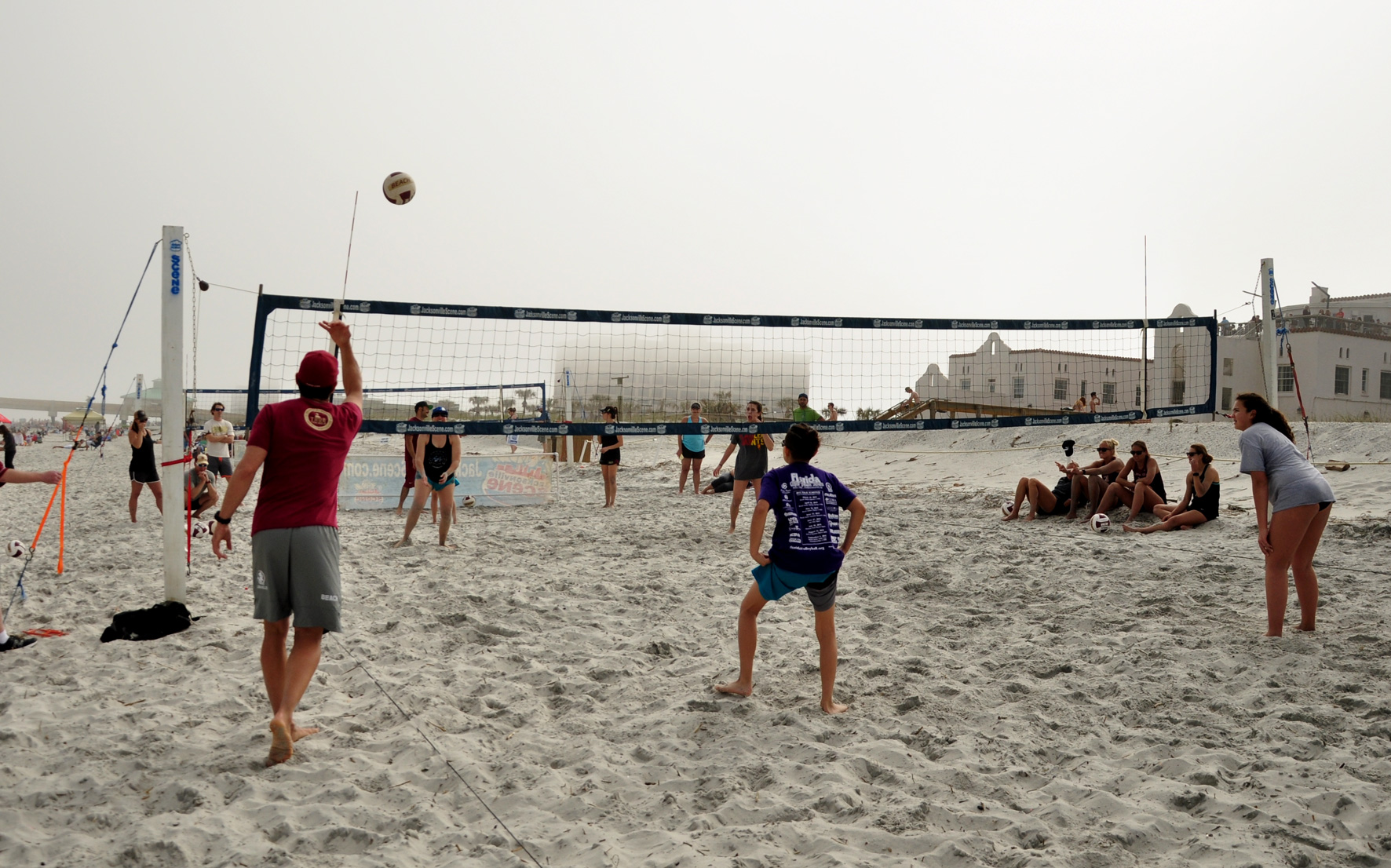 Beach Garnet & Gold Scrimmage – Photo Gallery and Results
