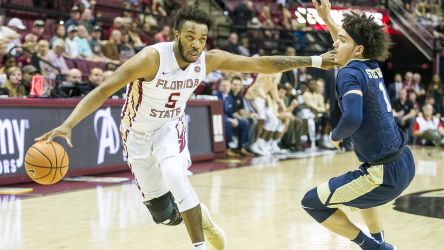 Savoy Steps Up as Noles Defeat Pitt