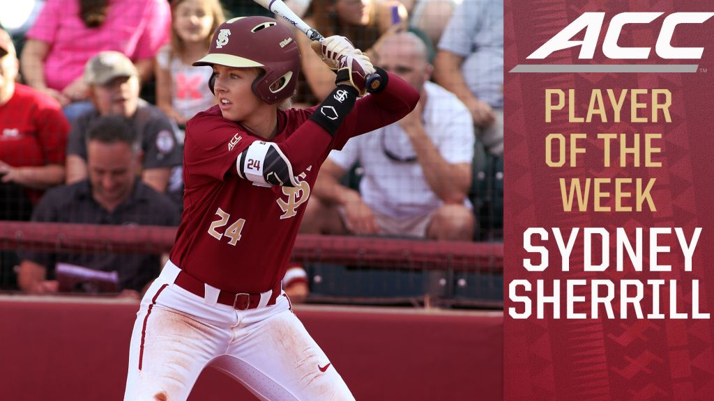 FSU Pair Earn ACC Accolades; Noles Drop Midweek Matchup