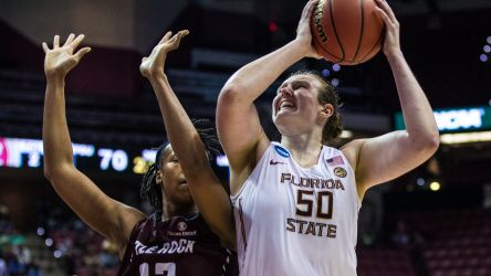 Women's Hoops Outscore Little Rock 91-49
