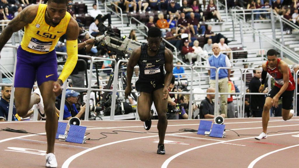 Jones Lowers Hurdles Record In Nole-Leading Fourth-Place Finish