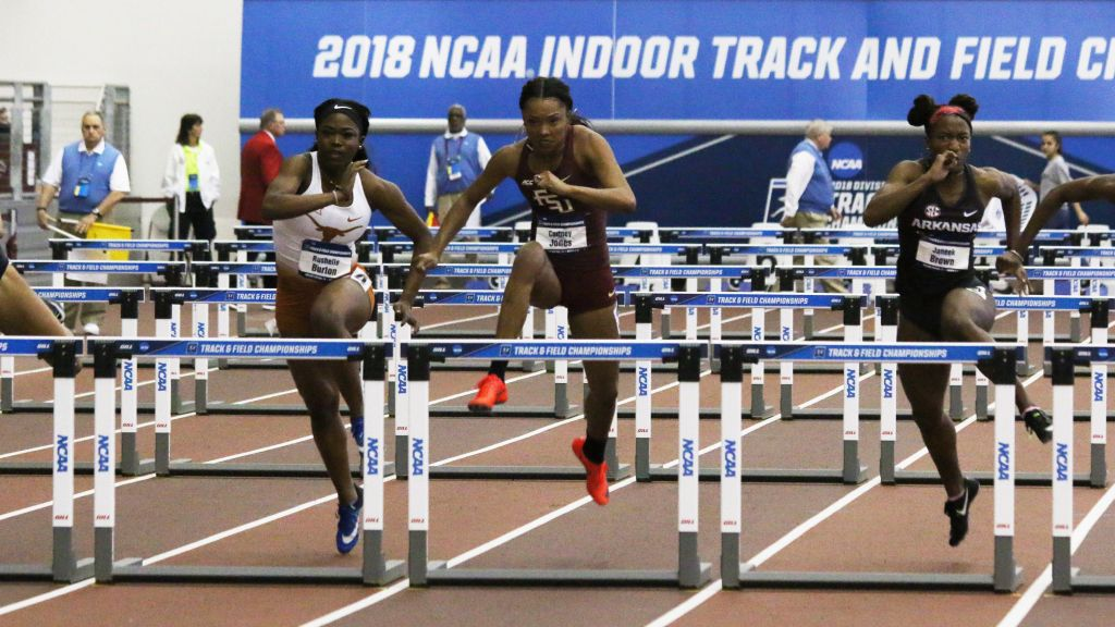 Droogsma Fourth; Noles Score Three, Advance Four Indoors