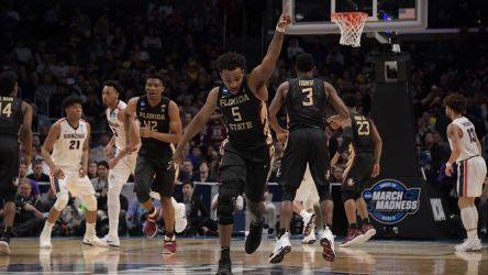 WATCH: Highlights and Celebration From Sweet 16 Victory