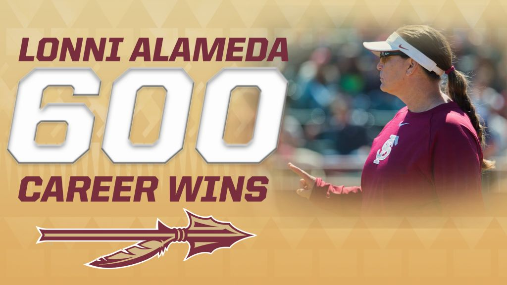 Lonni Alameda Earns Win No. 600 As FSU Sweeps UNF