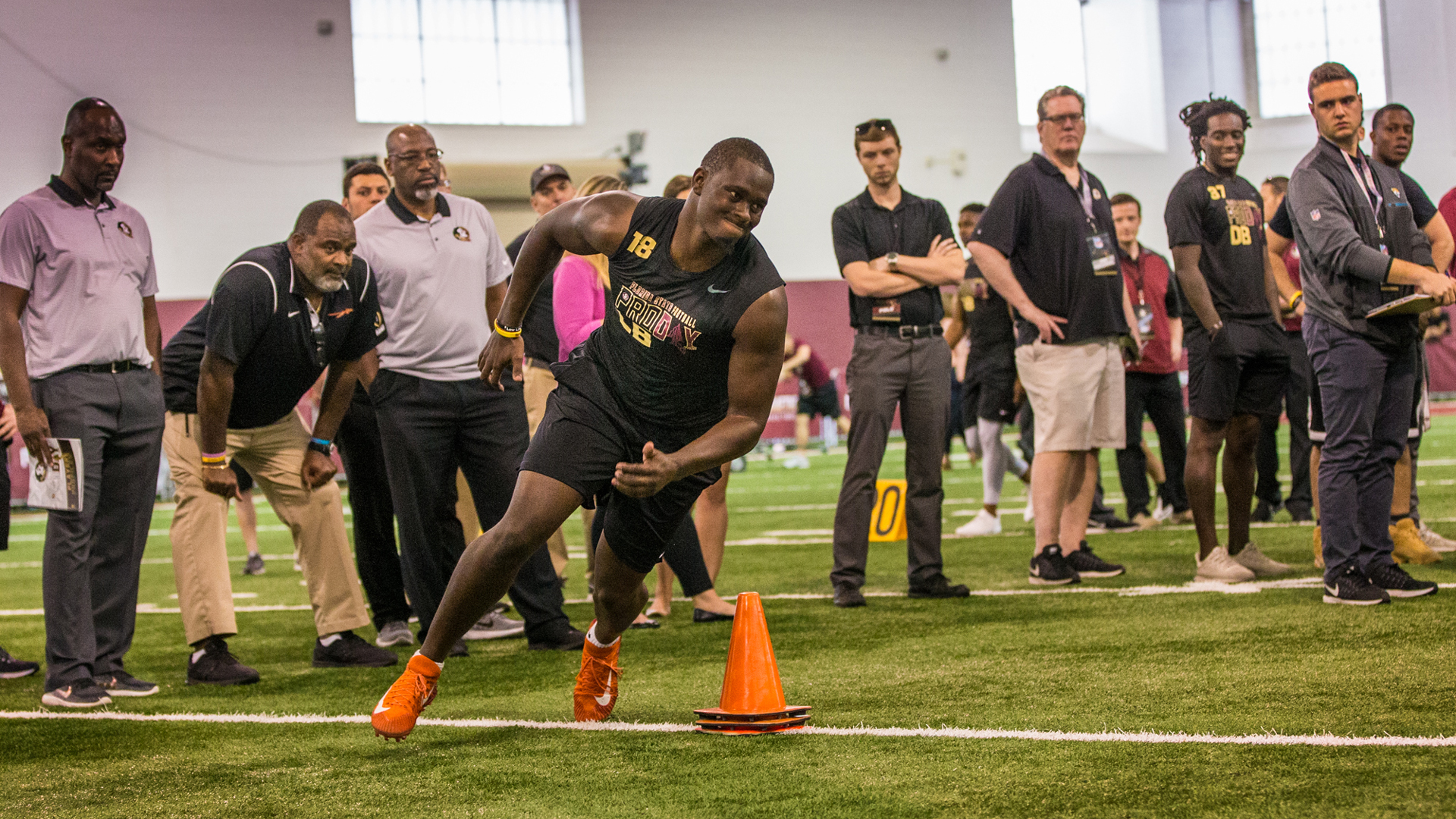 Photo Gallery: FSU Football Pro Day 2018