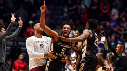 SWEET 16 BOUND: Noles Upset No. 1 Xavier, 75-70
