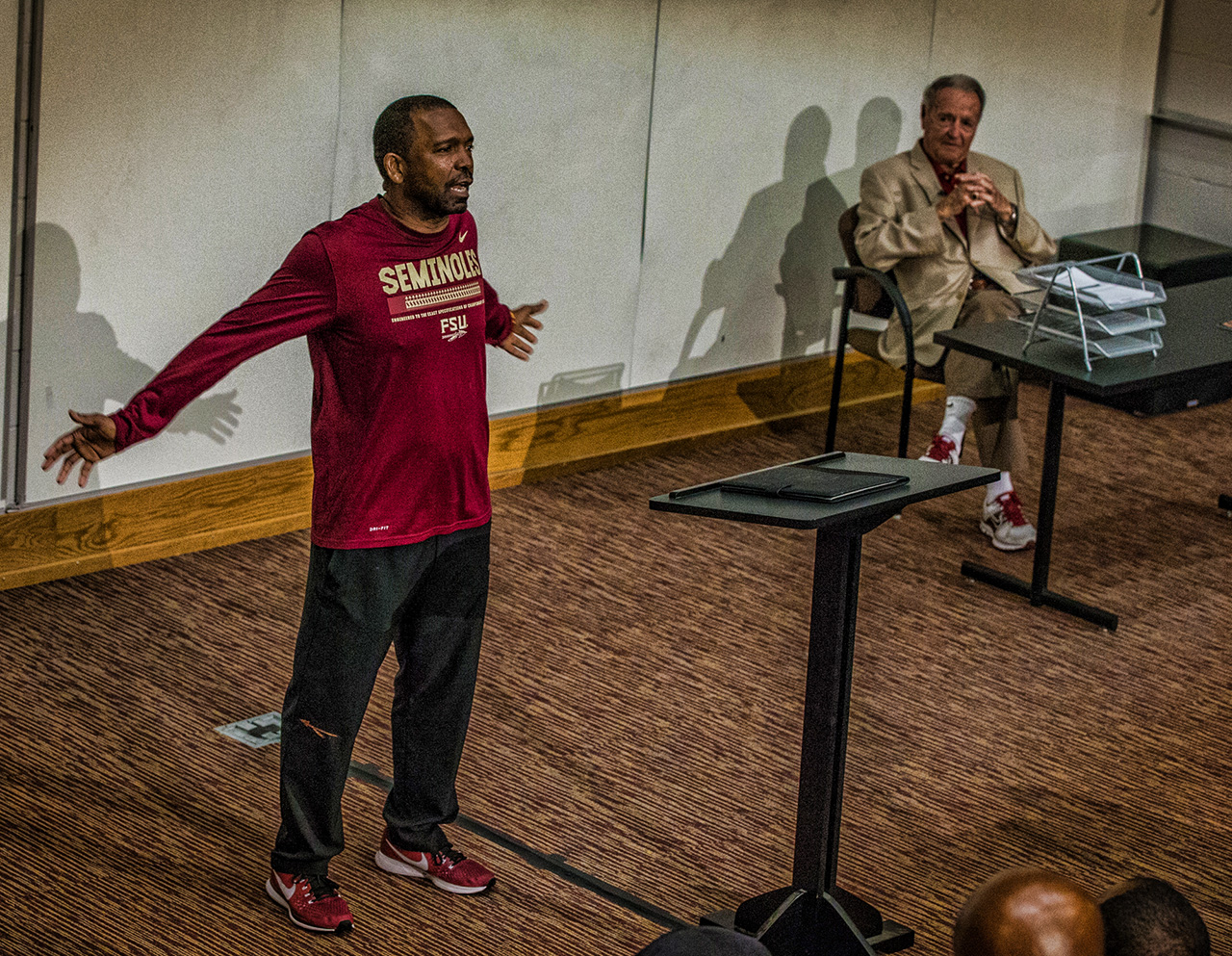FSU Football Coaches Clinic 📸