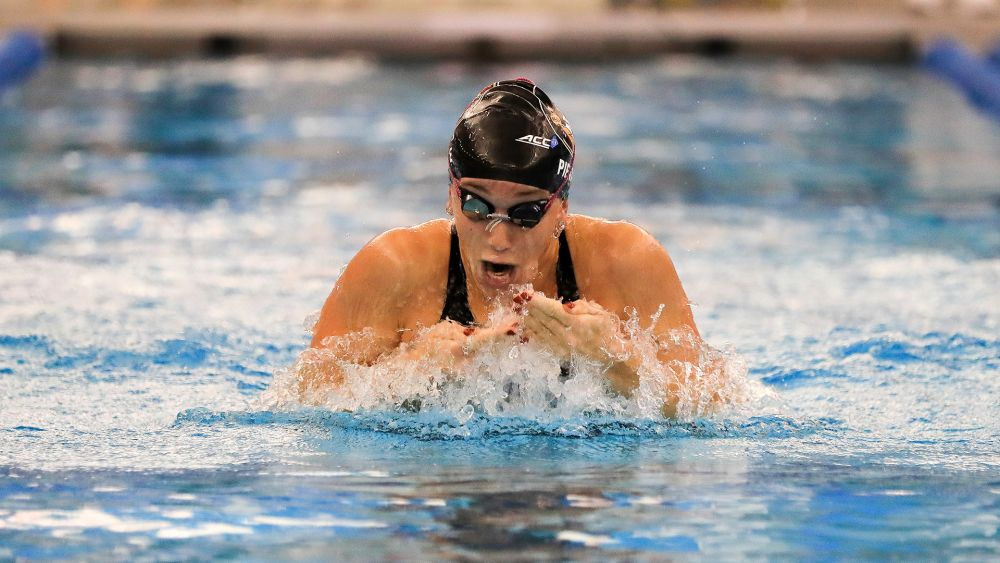 Swim & Dive Lands 10 on All-ACC Academic Teams