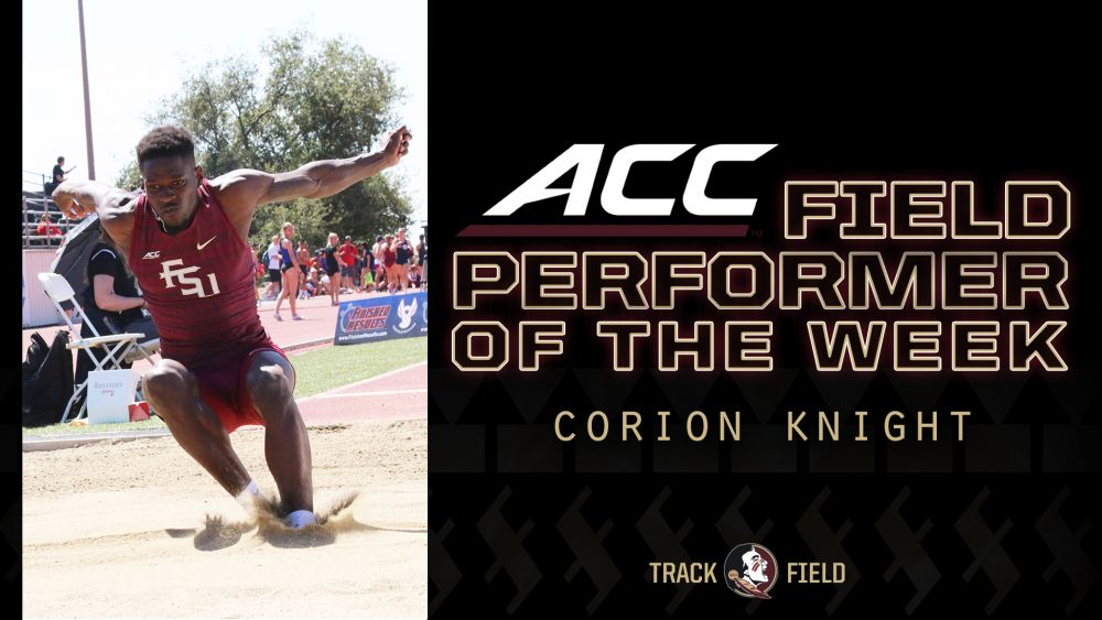 Knight Soars To ACC Field Performer Of The Week Honor