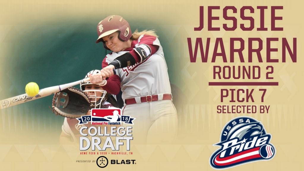 Hanson And Warren Are Top 10 NPF Draft Picks As Noles Sweep Cardinals