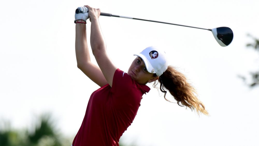 Kim Metraux Leads Women's Golf At ACC Championships