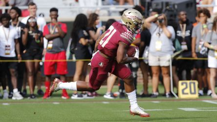Noles Put on a Show for Huge Spring Game Crowd