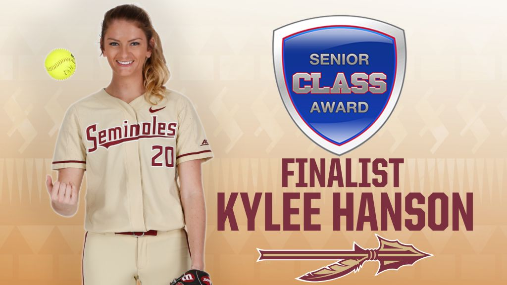 Kylee Hanson Named Senior CLASS Finalist; No. 13 FSU Hosts Pitt