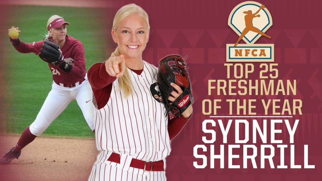 Sydney Sherrill Named Top 25 Candidate for NFCA Freshman of the Year