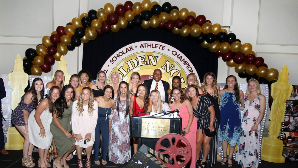 Seminole Student-Athletes Honored At Golden Nole Banquet