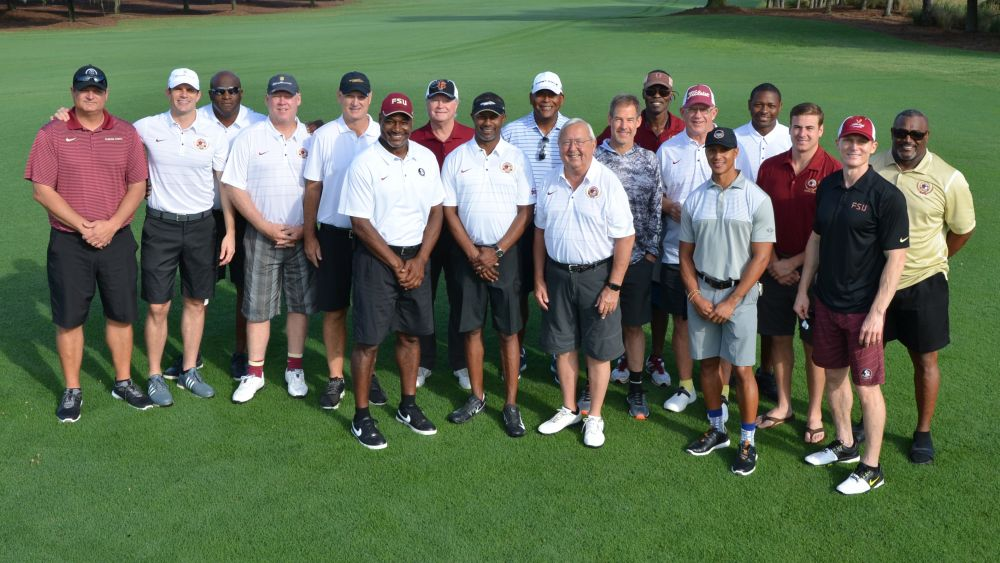 Taggart Tour Continues With Seminole Legends at QB Classic