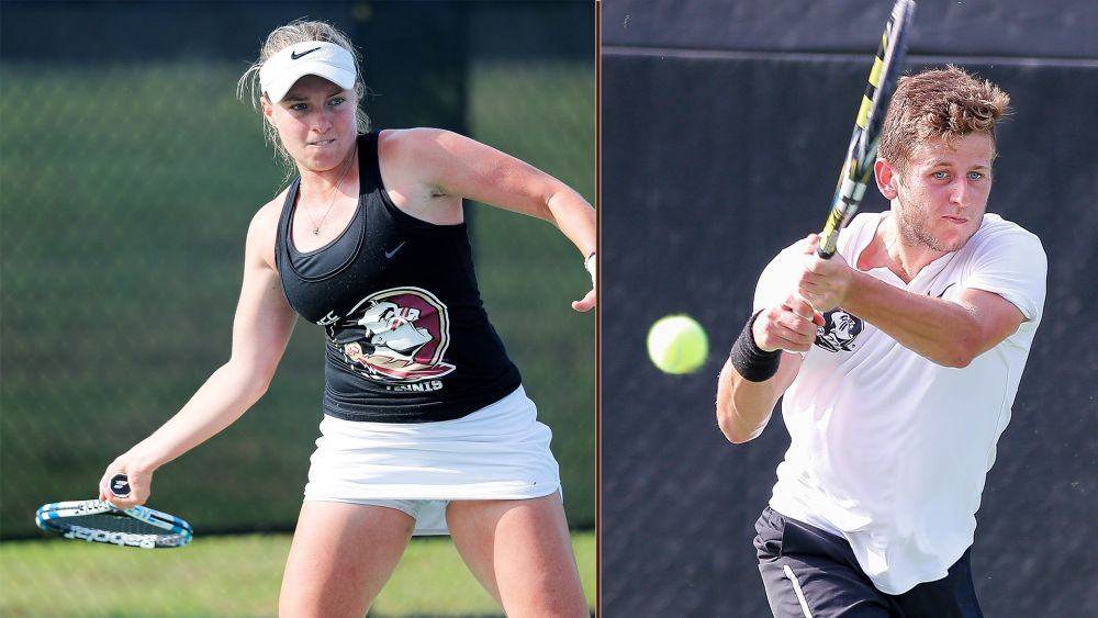 Tennis Season comes to an End as Poullain and Touly Fall in the Second Round