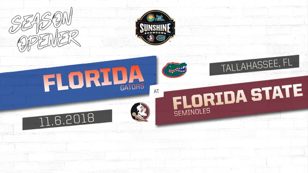 Men's Basketball Hosts Gators Nov. 6 in Sunshine Showdown Presented By Fresh From Florida