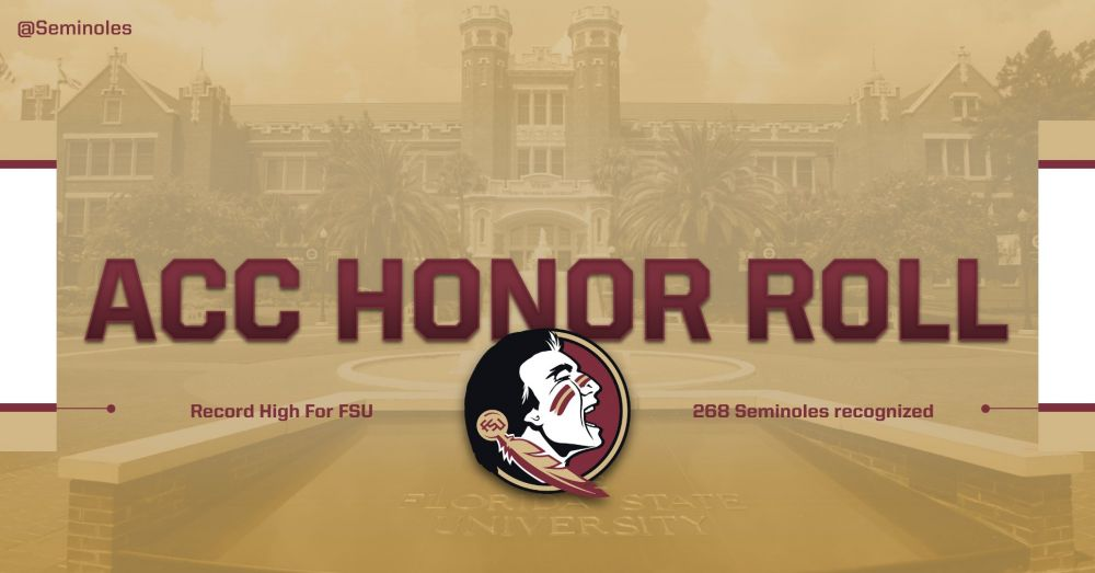 School-Best 268 Student-Athletes On 2017-18 ACC Honor Roll