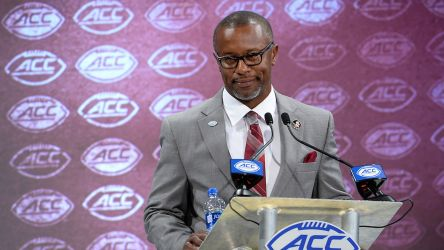 'New Guy' Taggart Makes Fine First Impression At ACC Kickoff