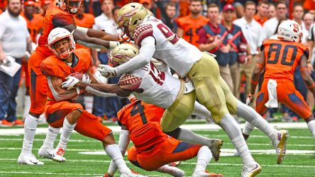'We've Got To Get Better': Football Falls, 30-7, At Syracuse