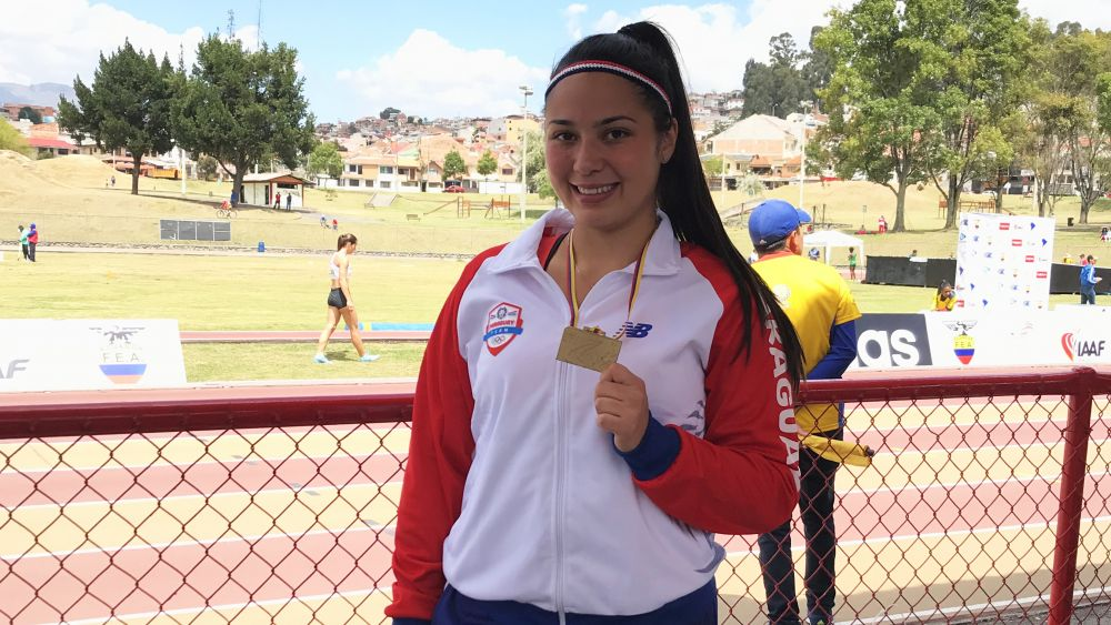 Paredes Meza Wins South American Javelin Gold
