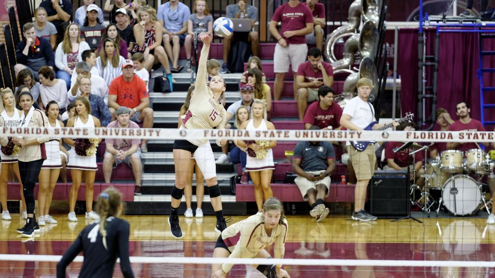 Volleyball Sweeps ACC Opening Weekend with Rout of Wake Forest
