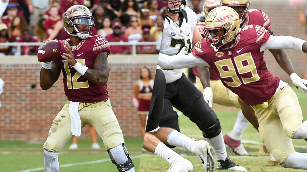Francois, Burns Named ACC Players of the Week