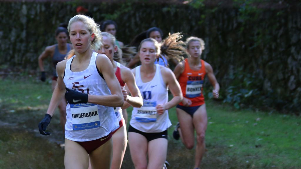 XC Women Finish Fourth; Trio Earn All-ACC Honors