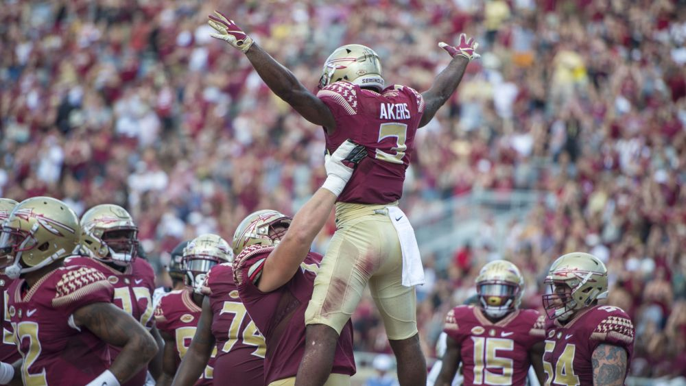 Akers' Breakout A Welcome Sight For Noles