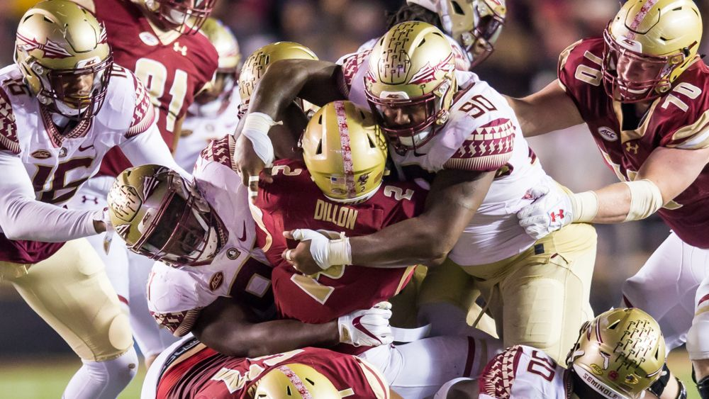 Noles Ready To Get Physical With BC Running Game