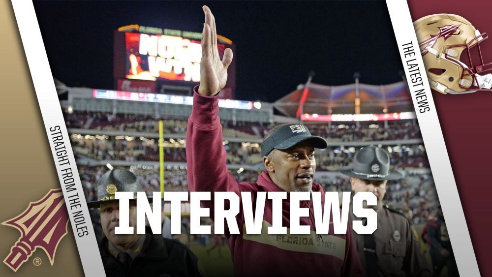 Willie Taggart and Defense Interviews: November 21