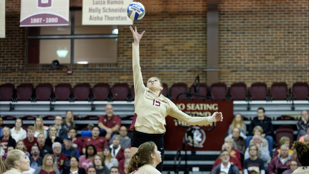 Caffrey Becomes FSU's First AVCA East Region Player of the Year