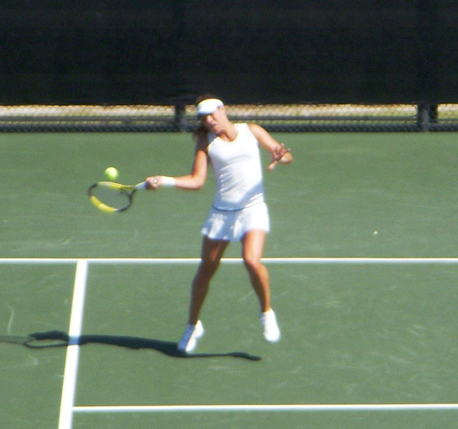 Noemie Scharle clinched the match