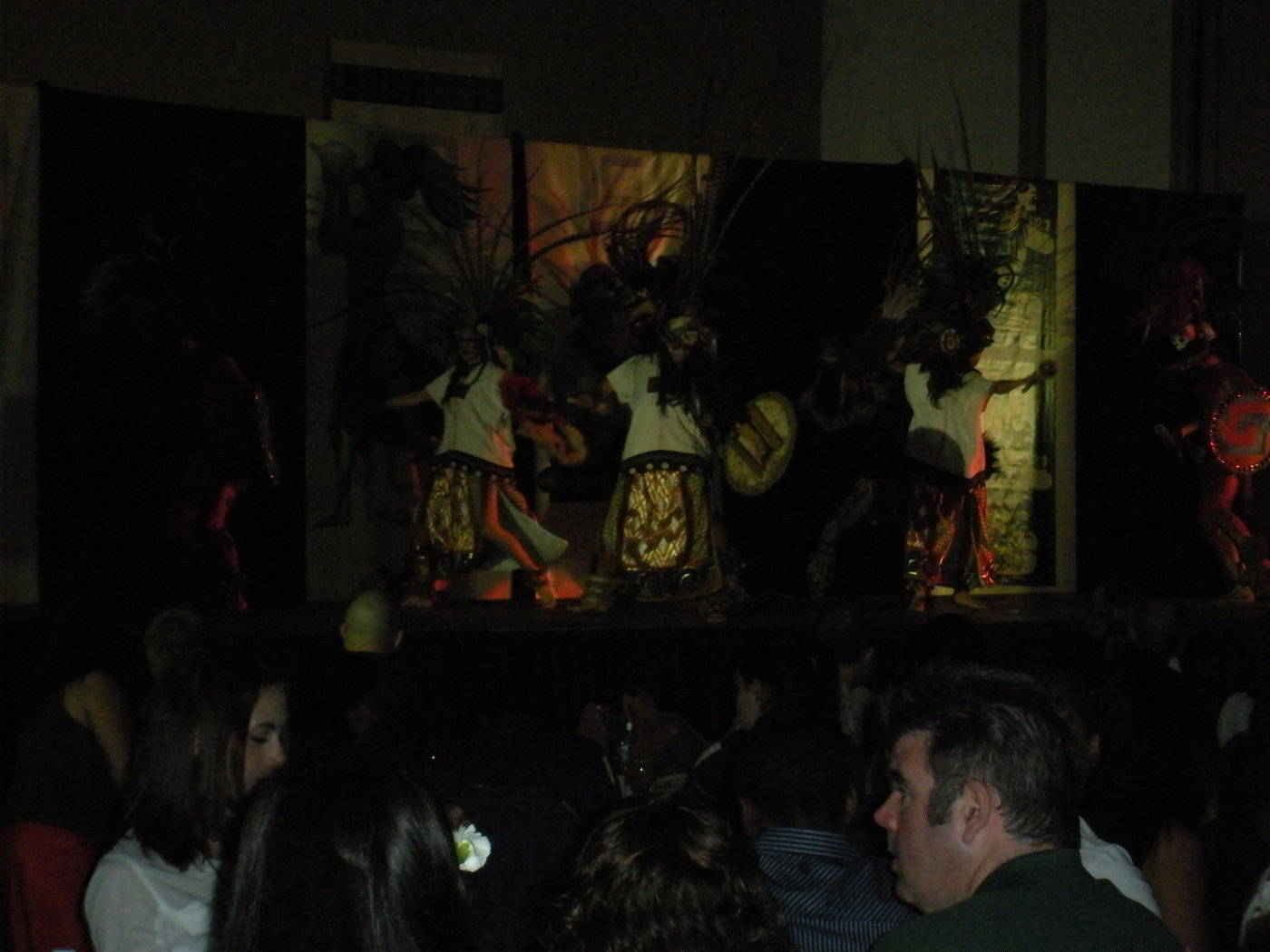 A look at the Mexican dancers.