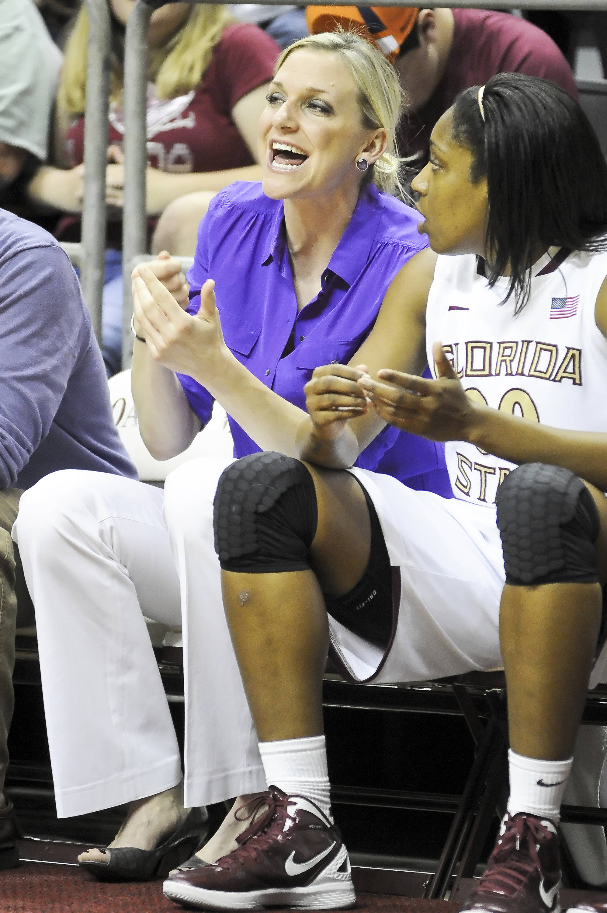 Assistant Coach Brooke Wyckoff