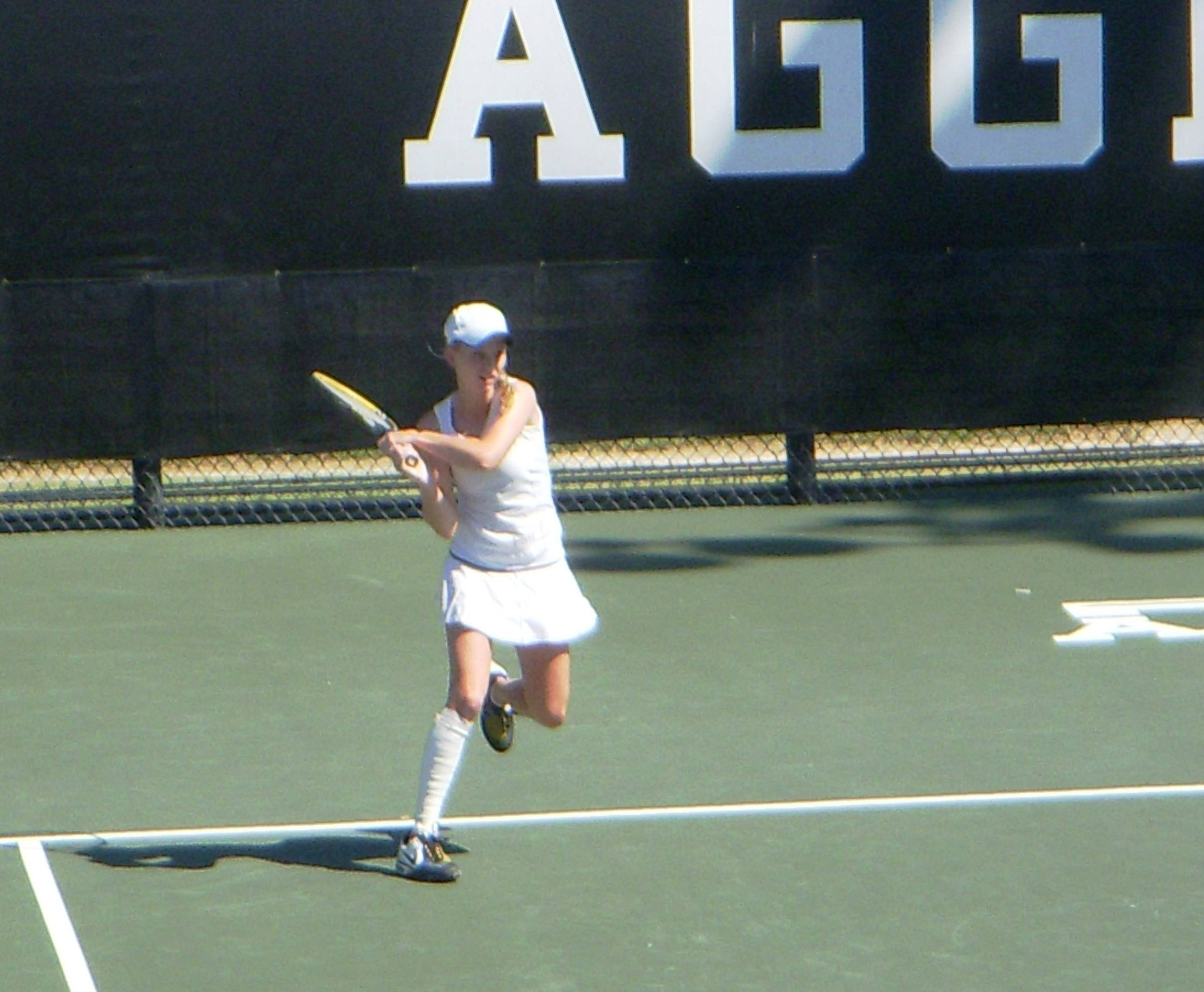 Katie clinched the third point for the Seminoles