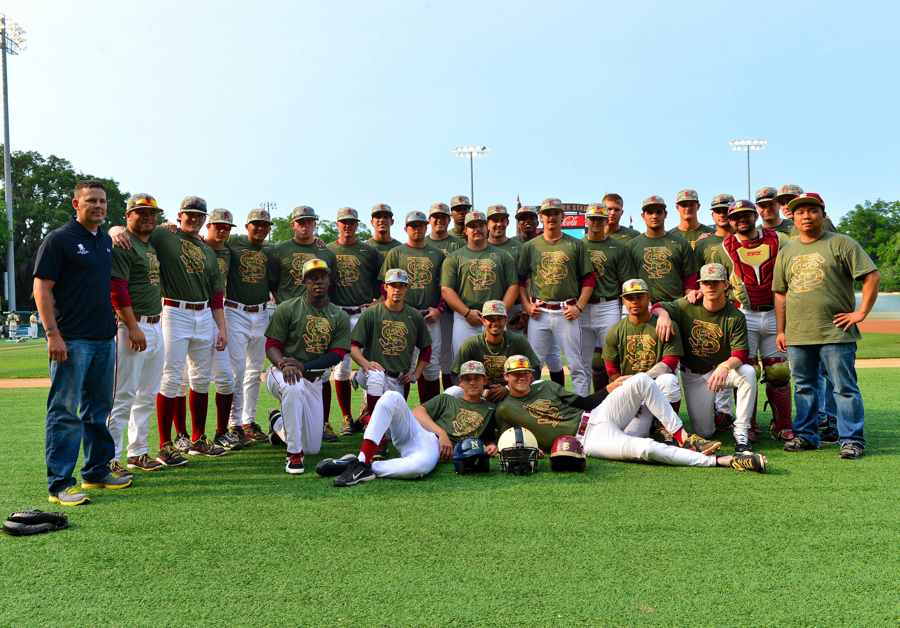 The Seminoles honor our nation's service men and women Saturday night with Military Appreciation Night at the ballpark.