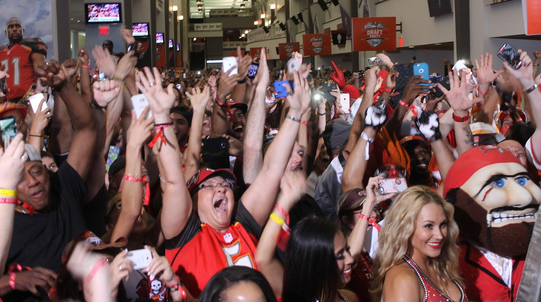 Buccaneers 2015 Draft Party